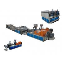 Wholesale Eco-Friendly WPC Extrusion Line Anti-corrosion With Double-Screw Extruder from china suppliers