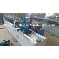 Wholesale 0.32Mm thickness Light keel stud roll forming machine with none stop cutting device from china suppliers