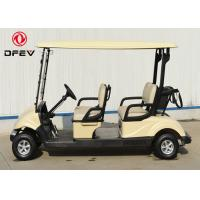 Wholesale Club Car Precedent Four Passenger Golf Cart  Electric With Curtis Controller from china suppliers