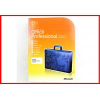Wholesale Original Microsoft Office 2010 Pro Retailbox COA STICKER online activation with DVD on stock from china suppliers