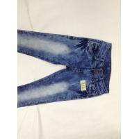 Wholesale Urban Style Casual Way Male Super Skinny Jeans , Printed Skinny Denim Biker Jeans from china suppliers