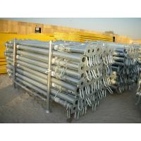 Buy cheap Qualified supplier of adjustable scaffolding prop for slab formwork construction from wholesalers