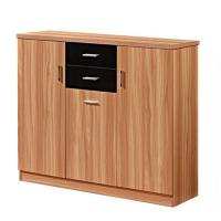 Buy cheap hot designed wood mdf shoe cabinet from wholesalers