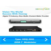 Wholesale ISDB T Digital TV Modulator With Adaptive Linear and Nonlinear Digital Pre - distortion from china suppliers