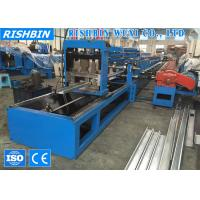 Wholesale High Speed Lip Channel Roll Forming Machine with Non Stop Flying Shear Post Cut from china suppliers