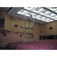 Wholesale 2kn / ㎡ 4m Maintenance Aluminum alloy Climbing Scaffold Light Weight Portable Scaffold Tower with TUV GS from china suppliers