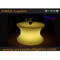 Wholesale IP54 Water - Proof Recharge Led Outdoor Furniture , Led Table 1 Year Warranty from china suppliers