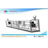 Wholesale ZLP 500 Window Cleaning Suspended Scaffolding With Plastic Spray Painted from china suppliers