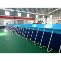 Wholesale Silk Printing Blue Portable Inflatable Swimming Pools For Adults from china suppliers