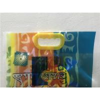 Wholesale Color Printing Flexible Packaging Bags , Stand Up Pouch Bags With Hand Hole from china suppliers