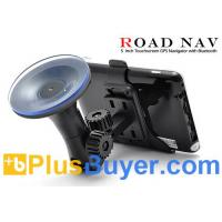 "Wholesale Road Nav - 5"" Touchscreen GPS Navigator (FM Transmitter, Bluetooth, 500MHz) from china suppliers"