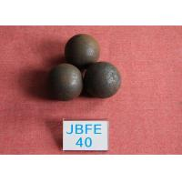 Wholesale Power Station Forged Grinding Steel Ball B2 D40mm High Surface Heardness 61hrc - 63hrc from china suppliers
