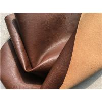 Wholesale Sofa Genuine Recycled Leather Upholstery Fabric With PU Coating Surface from china suppliers