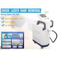 Wholesale 810nm Diode IPL Laser Hair Removal Machine With Touch Cooling AC220V - 240V from china suppliers