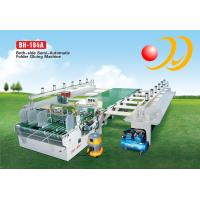 Wholesale Semi - Automatic Folder Gluer Machine Operator Both - Side For Large Box from china suppliers