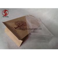Wholesale Side Sealing Custom Personalized Kraft Recycled Paper Bags For Packaging Matte Printed from china suppliers