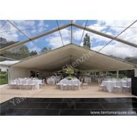 Clear Top and Wall Cover Hard Aluminum Alloy Frame Wedding Tent Structure Water Resistant