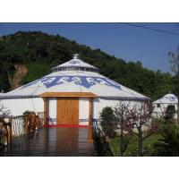 Wholesale Family Mongolian Yurt Tent Ethnic Flavor White For Daily Residential Life from china suppliers