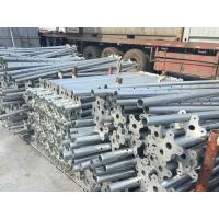 Wholesale Hot dipped Adjustable steel props system galvanized formwork steel Shoring prop from china suppliers