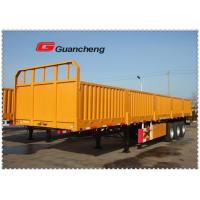 Wholesale Tri Axle 13m 60T Sidelifter Container Trailer , High Tensile Steel Q345 Side Load Trailer from china suppliers