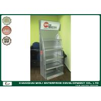 Wholesale Metal Shelves Racking Floor Display Rack For Lubricant Oil Bottles Supermarket from china suppliers
