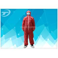 Wholesale Polypropylene Spunbond Disposable Coverall Suit With Hood Waterproof from china suppliers