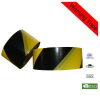 Wholesale High - Strength 100m PE Yellow and Black Barricade Custom Caution Tape from china suppliers