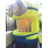 Wholesale Pvc Inflatable Money Booth/ Inflatable Minions Wiht Blower for Outdoor Advertising from china suppliers