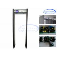 Wholesale LCD Screen Bilingual Walk Through Metal Detector Gate For Weapon Check from china suppliers
