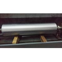 Wholesale Non - Ferrous Metal / Leatheroid / Leather Embossing Rolls , Knurled Rollers from china suppliers