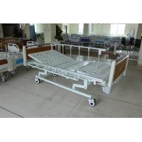 Wholesale Super Low Durable Three Functions Mechanical Medical Care Bed with HPL Head Foot Board For Nursing Home from china suppliers