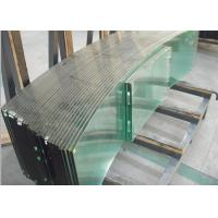 Wholesale 8mm bent tempered glass safety toughened glass curtain wall glass from china suppliers