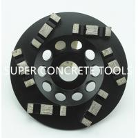 Wholesale 5 Inch 6 Seg Concrete Surface Grinding Diamond Metal Bond Floor Cup Wheels from china suppliers