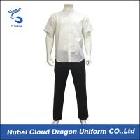 Wholesale Off White Summer Custom Security Uniforms For  Company / Private Guards from china suppliers