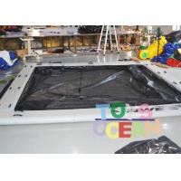 Wholesale CE 0.9MM PVC Inflatable Water Toys Inflatable Square Sea Pool For Yacht from china suppliers