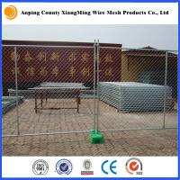 Quality galvanized 2.1x2.4m temporary fence temporary fencing portable fence AS4687-2007 for sale