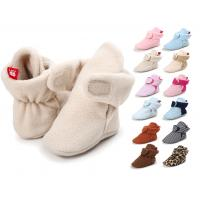 Wholesale Wholesale fashion Cotton fabric socks soft bottom indoor baby girl shoes from china suppliers