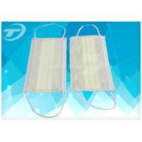 Wholesale Breathable Non-Woven Disposable Earloop Face Mask 3ply  17.5x9.5cm For Medical from china suppliers
