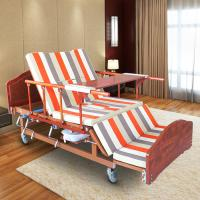 Wholesale Single Folding Medical Beds For Home , Hospital Style Beds Aluminum Side Rails from china suppliers