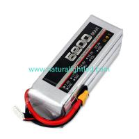 Quality 25C 5200mAh RC Battery for Large fixed-wing, helicopter, four-axis multi-rotor, car models, electric motor within 120A for sale