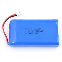 Wholesale UN38.3 2800mAh 3.7V Lithium Ion Rechargeable Battery from china suppliers