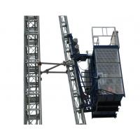 Wholesale Curve Building Construction Hoist Elevator 0 - 33 m/min Lifting Speed 1.6T Loaing Capacity from china suppliers