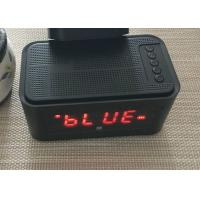Wholesale DC 5V USB Bluetooth 4.0 Alarm Clock Speaker Wireless FCC CE Certification from china suppliers