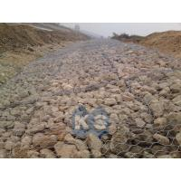 Wholesale Double Twisted Wire Mesh River Bank Gabion Retaining Wall For Protection from china suppliers