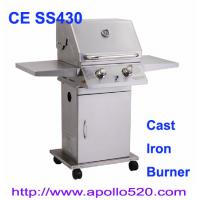 Wholesale Deluxe Two Burners Gas Grill Stainless from china suppliers