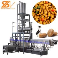 Wholesale 100kg/H-6t/H Dry Kibble Dog Food Manufacturing Machine Extruder Production Line from china suppliers