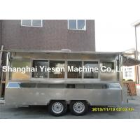 Wholesale CE Approved Food Concession Trailers Fast Mobile Food Vans Stall from china suppliers