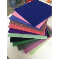 Wholesale 4.2kg Polyester Fiber Sound Acoustic Panel / Soundproof Panels For Walls from china suppliers