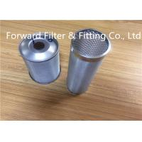 Wholesale Industrial 100um 304L / 316L Stainless Steel Wire Mesh Tube With Precise Rolling Finished from china suppliers
