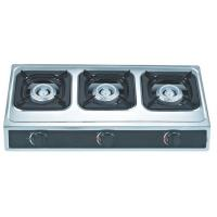 Buy cheap Table Top 3 Burner Natural Gas Hob Gas Stove In Casting Honeycomb Burner For Kitchen from wholesalers